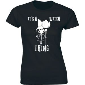 It's A Witch Thing - Halloween Slogan Tee T-shirt